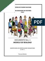 PDR/E - Modelo de Realidades de la Diocesis de Ciudad Guayana - 3Ed.