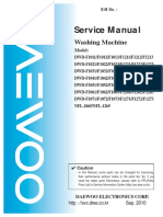 DWDF5234 Daewoo WashingMachine ServiceManual