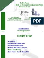 MIT BIZ Plan 1