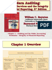 Ch01 Auditing and the Public Accounting Profession