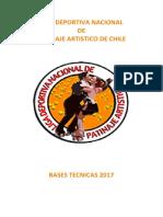 Bases Tecnicas 2017 - Liga Deportiva Nacional de Patinaje Artistico de Chile