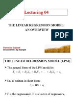 4. Metkuan Model Regresi Dan Penaksirannya Pertemuan 04