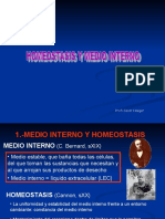 Homeostasis y Medio Inter No