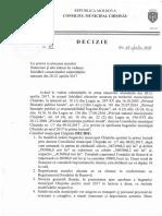 DECIZIE 4 1 Din 25.04.17 Alocare Resurse Financiare Ninsori Chisinau