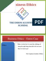 Business Ethics_Enron Case