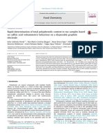 ArchivetempRapid Determination of Total Polyphenolic Content in Tea Samples Based on Caffeic Acid Voltammetric Behaviour on a Disposable Graphite Electrode