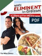 Livre La Cuisine Bruleuse de Graisses PDF Par Mike Geary