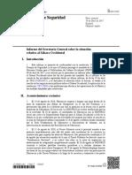 Relatório do secretário-geral da ONU sobre o Saara Ocidental Abril 2017