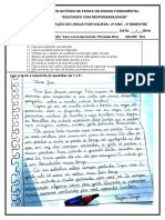 2ª Avaliaçao de Língua Portuguesa 4º Ano
