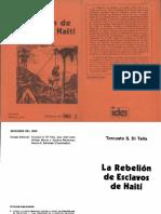 Torcuato Di Tella - La Rebelion de Esclavos de Haiti