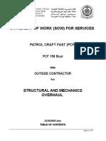 Scope of Work (Dry Docking List)