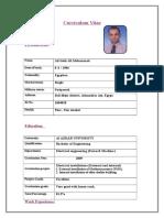 CV of Ali 1