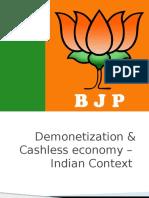 demonitisation for pradesh      karobari1.pptx