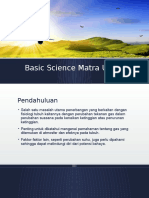 Basic Science Matra Udara