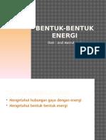 Gaya Dan Bentuk-bentuk Energi