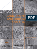 Land, Property, And Housing in Somalia