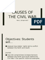 Causes of the Civil War 2