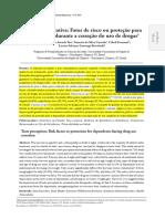 Percepção Gustativa_fator de Risco Ou Proteção Para Dependentes Durante a Cessão Do Uso de Drogas_teo Et Al