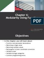 06.Modularity Using Functions