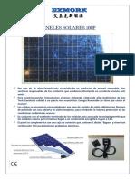 Solar Panel Exmork 100pes