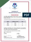 SSS Certificate 2013