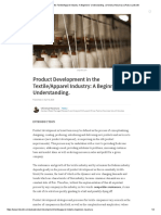 Product Development in the Textile_Apparel Industry_ a Beginners' Understanding
