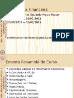 Mba Matemc3a1tica Financeira