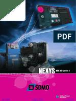 Datasheet Sdmo Nexys2 Control Panel