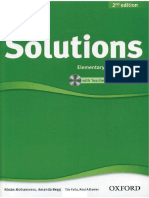 Solutions Intermediate Students Book 2nd Edition