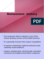 History of Nonwovens