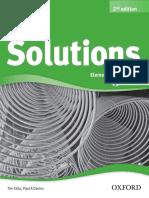 Solutions Elementary Workbook