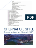 25 April Chennai Oil Spill Document Leak