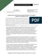 Comunicado FMI Febrero 2017