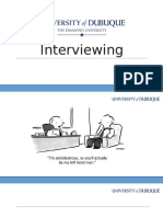 effective interviewing training presentation