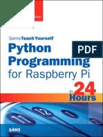 Python Programming for Raspberry Pi - Richard Blum.epub