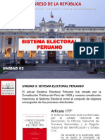 Sistema Electoral - Unidad 2
