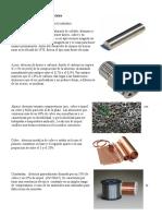 Principales Aleaciones Utilizadas en La Industria