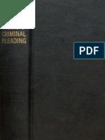 Principles of Criminal Pleading