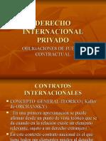 Derecho Internacional Privado contratos