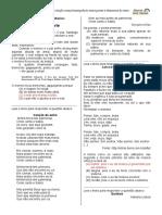 Treino do descritor D11 do 9º Ano em Língua Portuguesa
