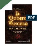 Scaricare Il Quinto Vangelo Di Ian Caldwell Gratuito
