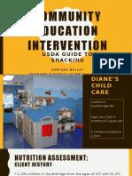 community intervention project