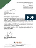 Doña Juana Carta