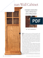 Craftsman Wall Cabinet (cro-wood woodworking plans)