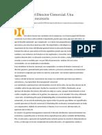 01. La Funcion Del Director Comercial