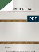 Active Teaching Fpl 10april Nwrc Magilligan