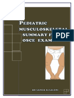 Pediatric Musculoskeletal Summary for Osce Exam