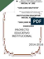 P.E.I. 2014-2016 - I.E.I. N° 282 SAN JUAN BAUTISTA - SHANCAYÁN.docx