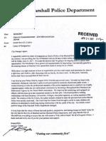 Campa Resignation Letter