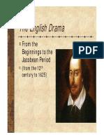 English Drama Versione Ridotta